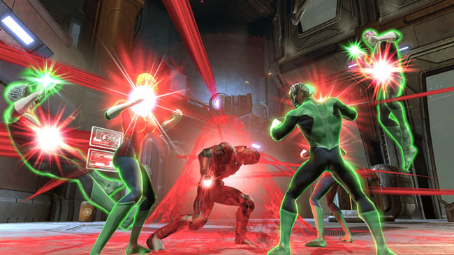 Red Lantern Powers in War of the Light