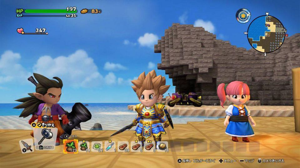 E3 2019: Demo For Dragon Quest Builders 2 Coming This Month - MMORPG on