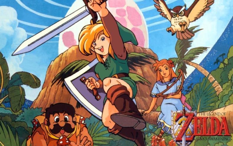 Legend of Zelda Link's Awakening